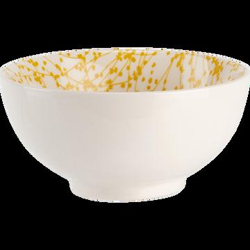 Coffret de 4 bols en porcelaine D11cm-GINKO