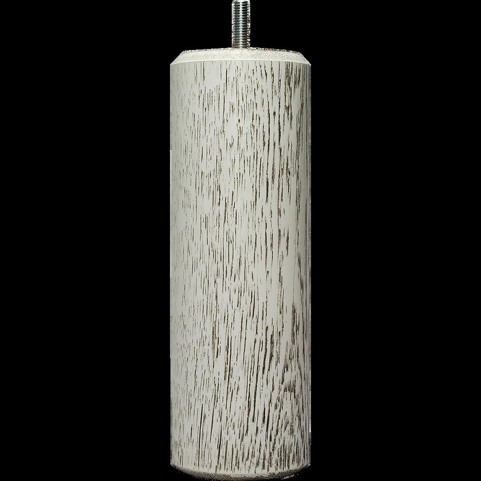Pieds de sommier blancs H20 cm - jeu de 4-VEINAGE