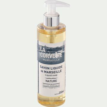 Savon de marseille liquide nature - jaune pâle 250ml-NATURA