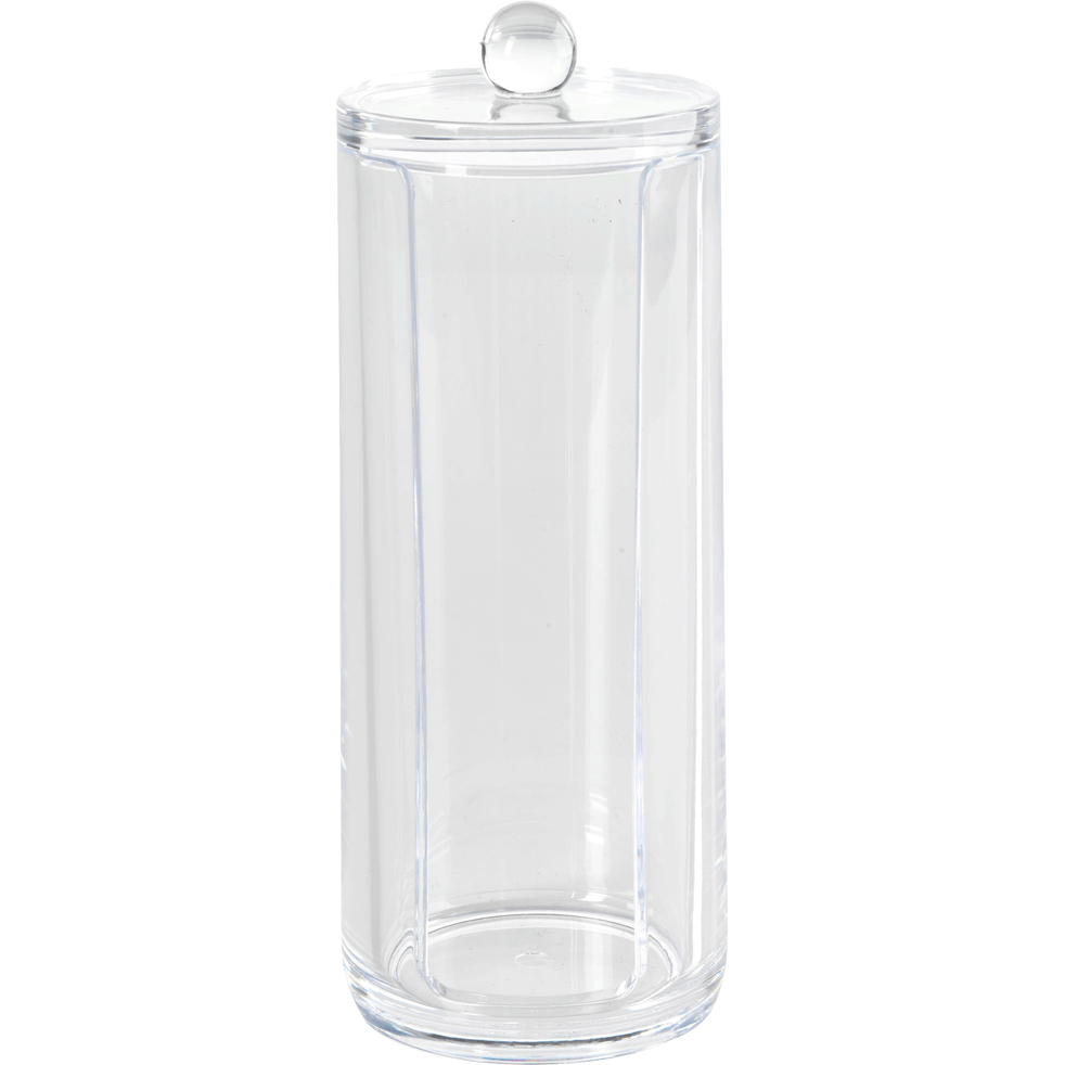 Pot à cotons transparent-ICE