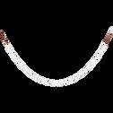 Guirlande en bois blanc L183cm-NONNAT