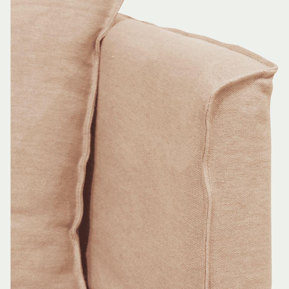 Méridienne droite en lin beige roucas-VENCE