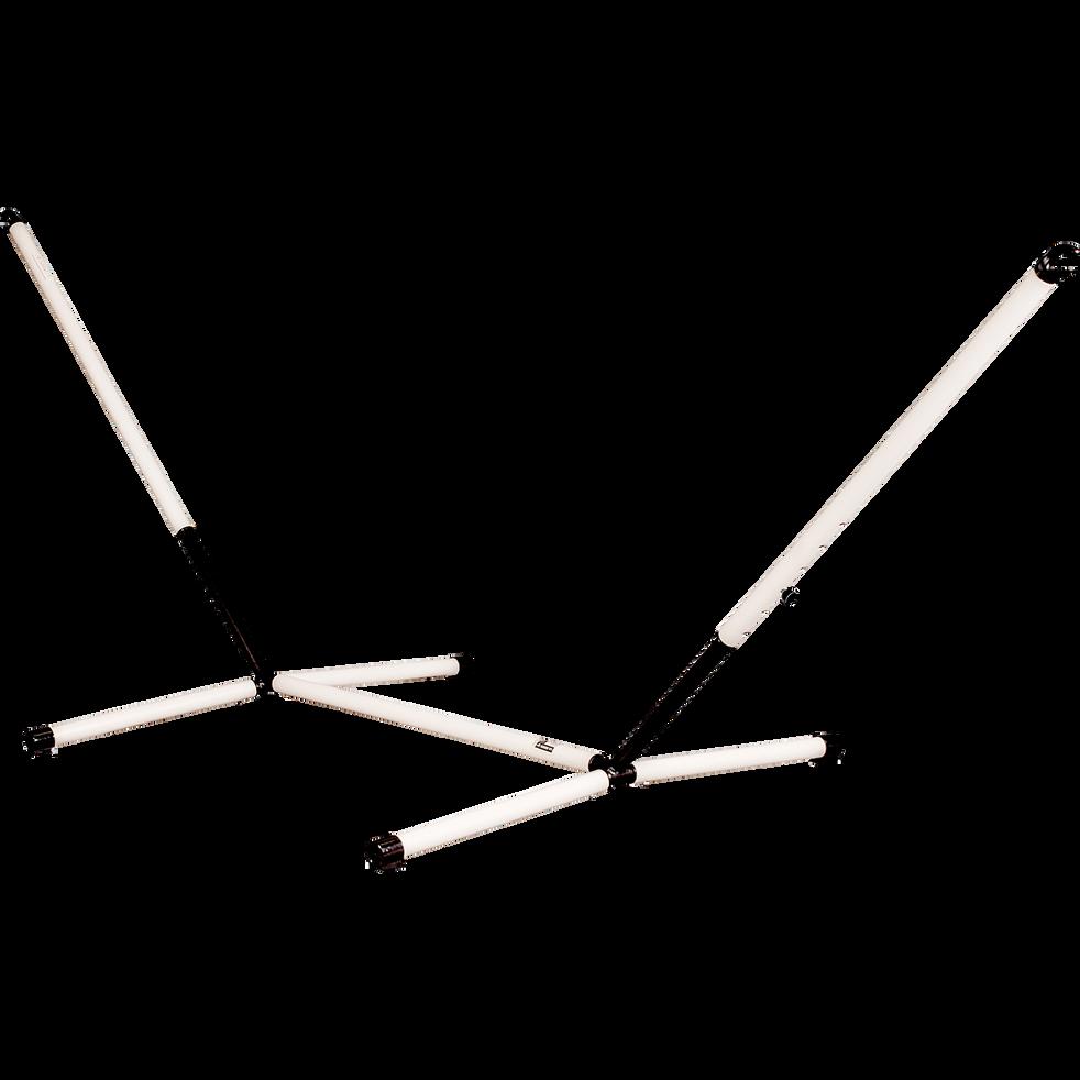 Support pour hamac beige en métal (1 place)-NAUTICO