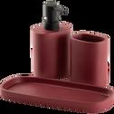 Porte-brosse à dents rouge-CALLISTO