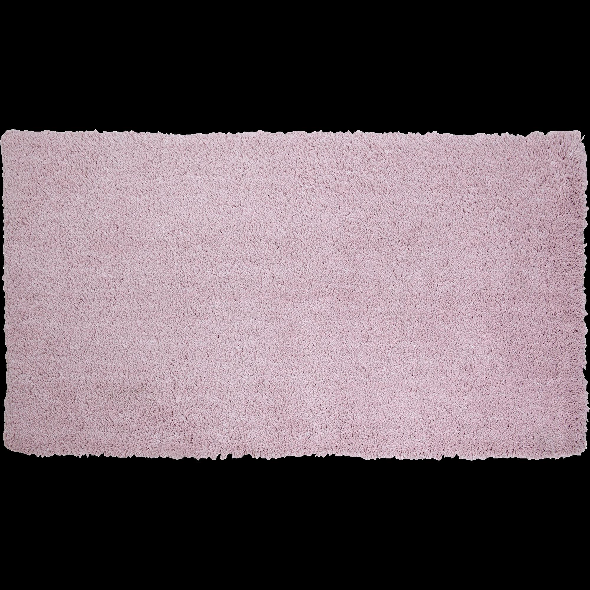 Tapis Shaggy Rose Poudré 60x110cm CLOUD