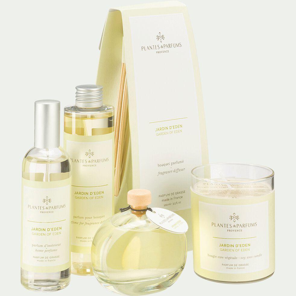 Bougie parfumée senteur Jardin d'Eden 180g-JARDIN D'EDEN