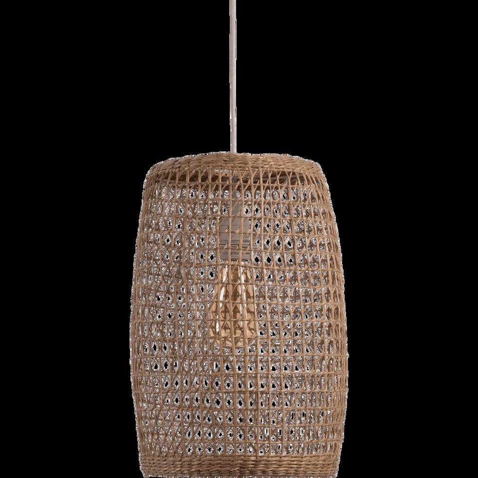 Suspension en algues D21xH42cm-BARLA