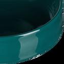 Coupelle en faïence bleu D15,5cm-VADIM