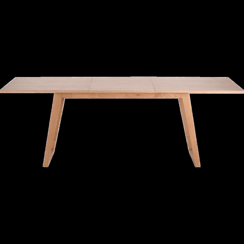 table de repas extensible plaqu e ch ne 4 10 places katelle tables extensibles alinea. Black Bedroom Furniture Sets. Home Design Ideas