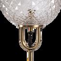 Lampadaire en métal doré D26xH143cm-GABIAN
