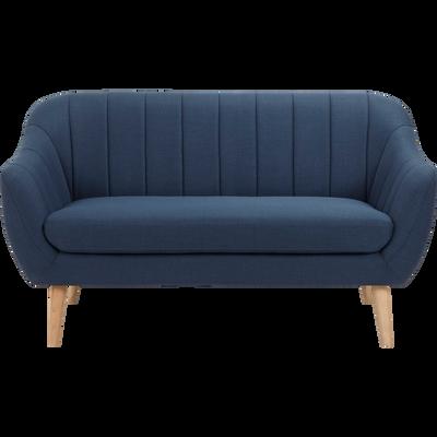canap 2 places fixe et convertible alinea. Black Bedroom Furniture Sets. Home Design Ideas