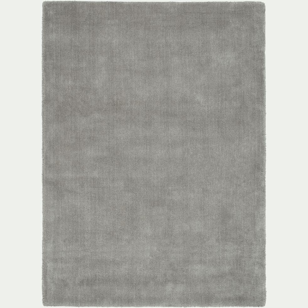 Tapis - gris restanque 100x133cm-NISTOUN