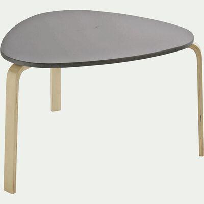 Table couleur taupe pour enfant-LOU