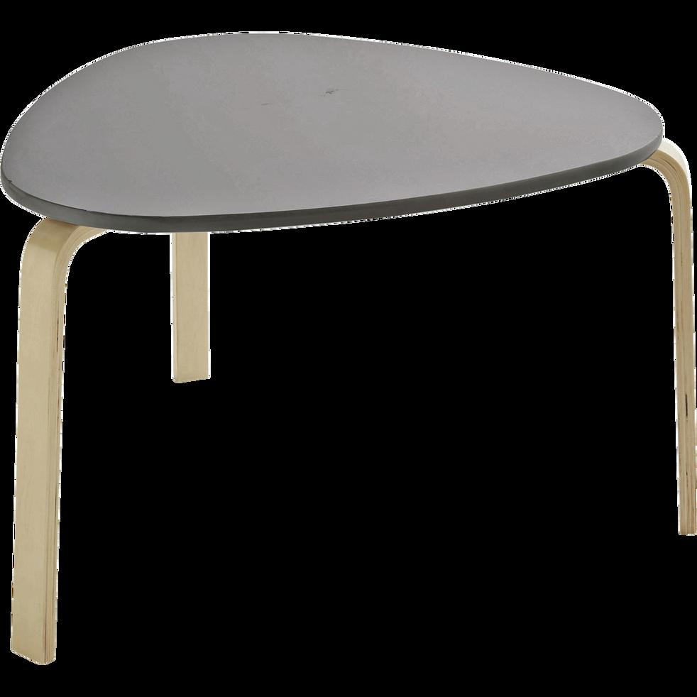 LOU - Table couleur taupe pour enfant