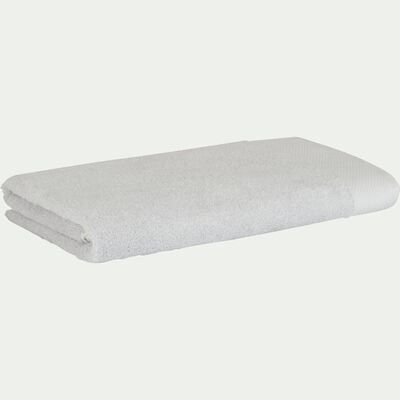 Drap de douche en coton 70x140cm gris borie-AZUR