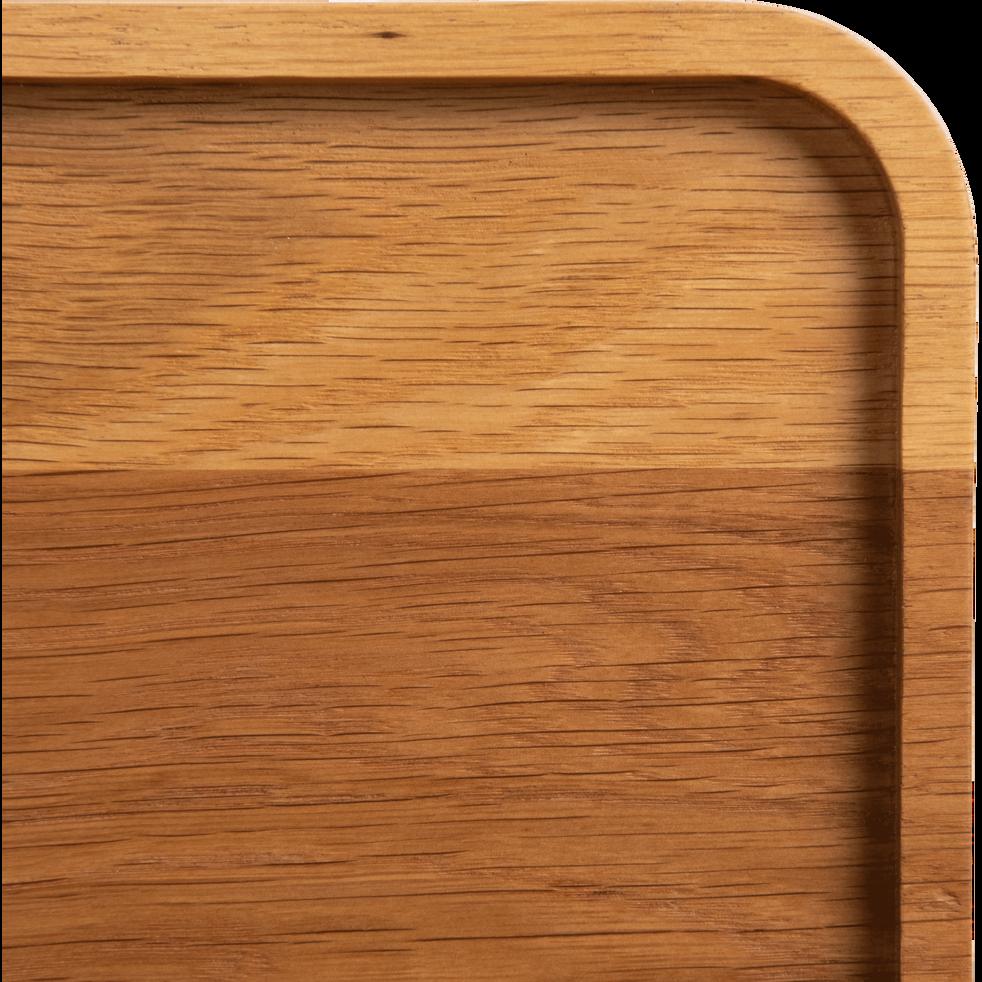 Plateau en bois de chêne 35cm-FLORA