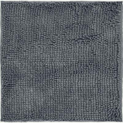 Tapis de bain carré gris restanque 55x55cm-EPI