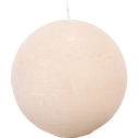 Bougie boule beige roucas-BEJAIA
