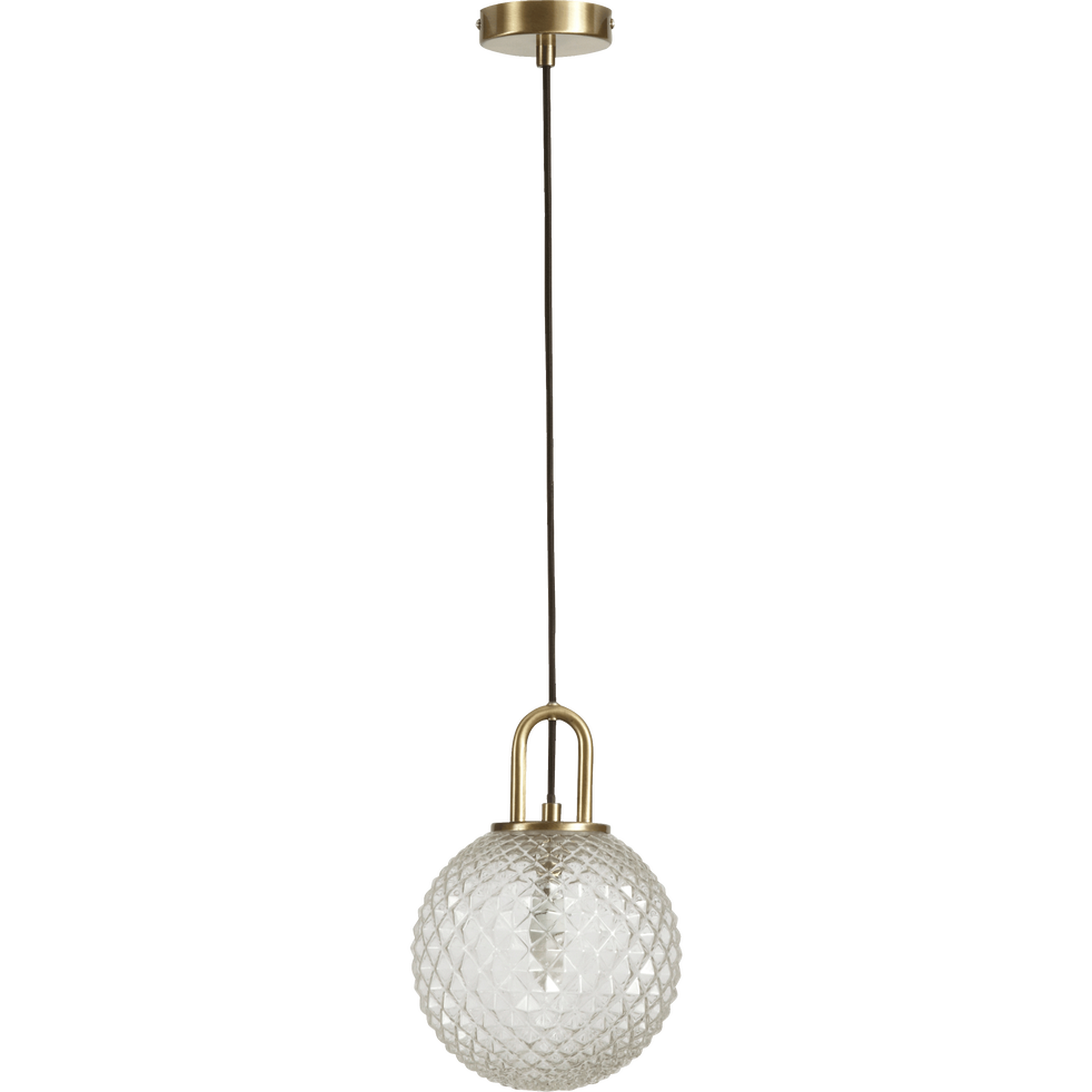 Suspension en verre D20cm-GABIAN