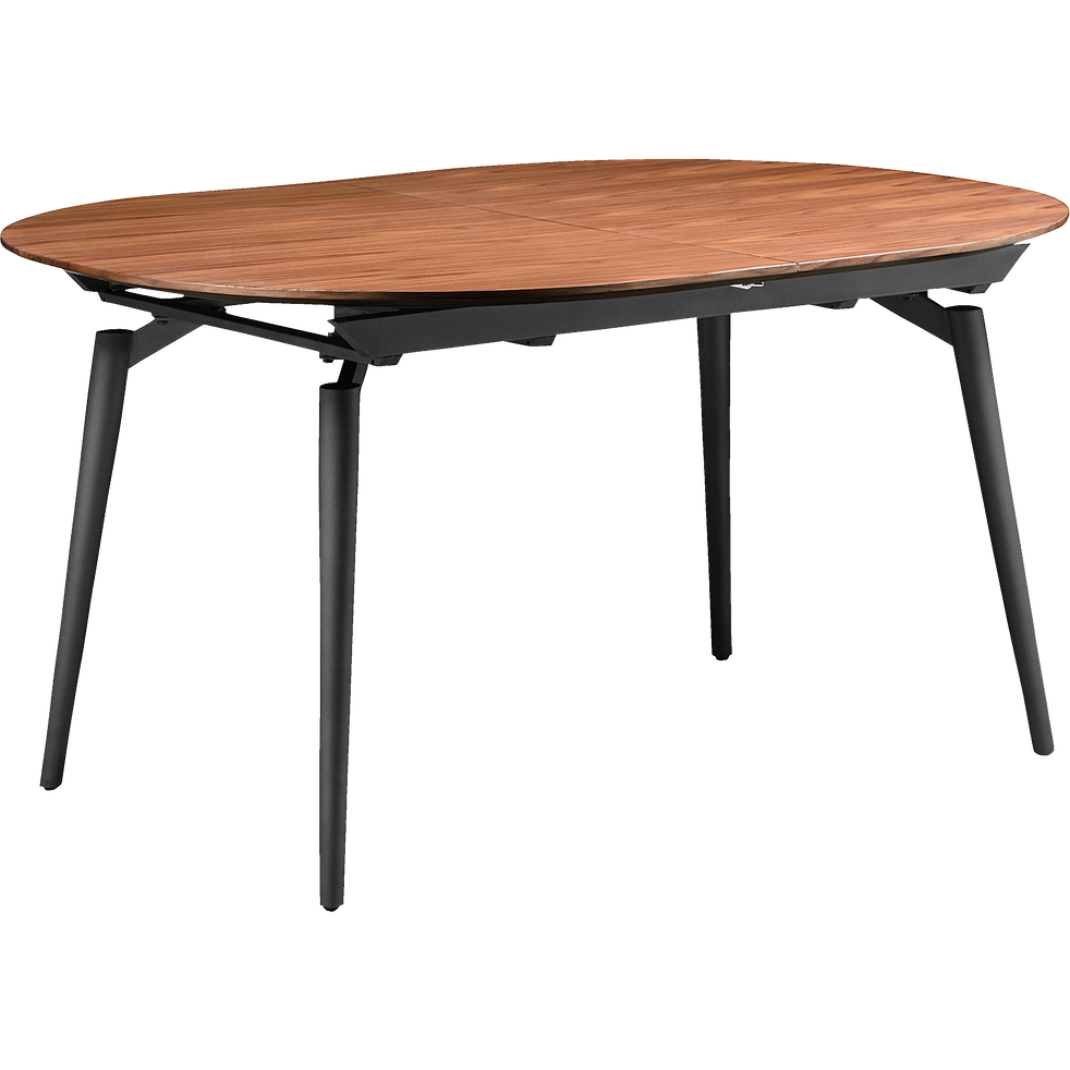 table extensible plaqu e noyer 4 8 places corenthine tables extensibles alinea. Black Bedroom Furniture Sets. Home Design Ideas