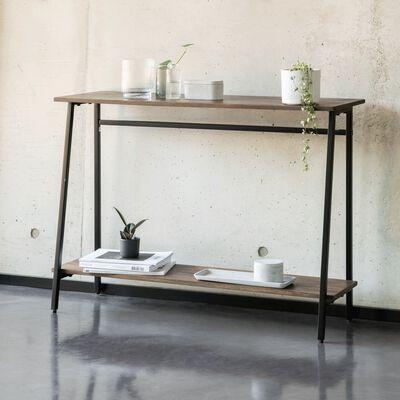 Console en bois de manguier et métal-LANTIC