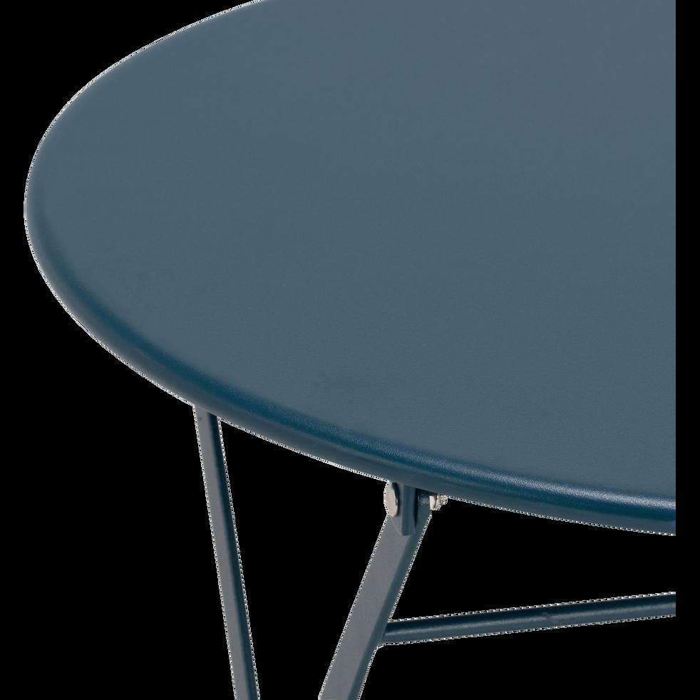 Table de jardin enfant d50xh48cm Bleu figuerolles-CERVIONE