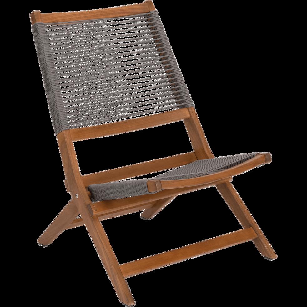 Fauteuil de jardin pliant eucalyptus alicante fauteuils de jardin alinea - Alinea fauteuil jardin ...