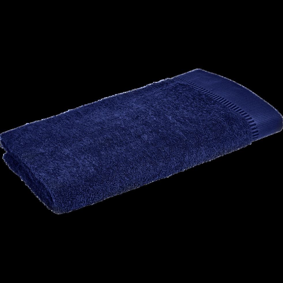 Drap de douche 70x140cm bleu myrtre-ARROS