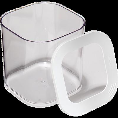 Boîte de rangement carrée en plastique 2.75L-MODULA
