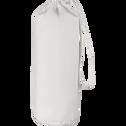 Drap housse en coton Blanc capelan 90x200cm-bonnet 25cm-CALANQUES