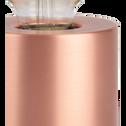 Lampe à poser sensitive cuivrée H12,5xD9cm-PRAO