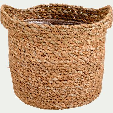 Cache-pot - naturel H16xD16 cm-NELIS