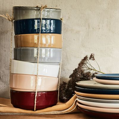 Gamme de vaisselle en faïence-LANKA