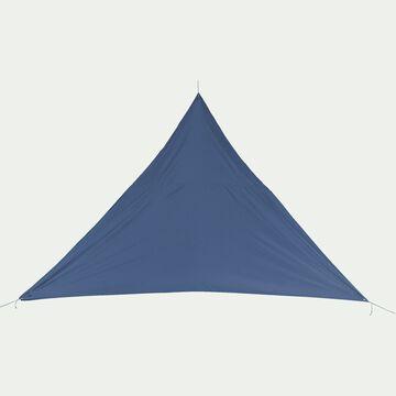 Voile d'ombrage triangle 3,6m - bleu figuerolles-Rosa