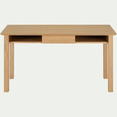 Bureau en bois - naturel L110cm-AGOSTA