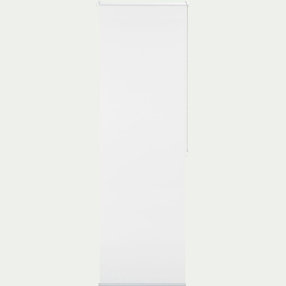 Store enrouleur voile - blanc 62x170cm-EASY VOILE