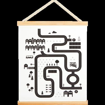 Décoration murale Kakemono imprime circuit-CAMOIN