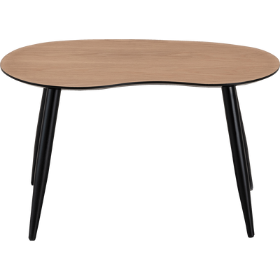 Table basse - table basse ronde, bois & métal | alinea
