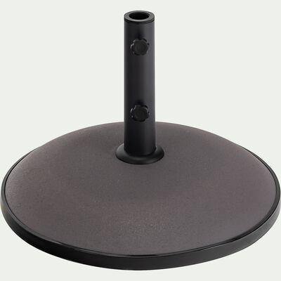 Pied de parasol en béton 25kg - gris restanque-CASERTO