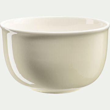 Saladier en porcelaine - beige roucas D26cm-CAFI
