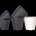 Tasse en porcelaine blanche 17,5cl-NATTE