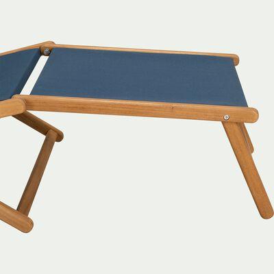 Repose pieds pour chaise udina - bleu figuerolles-UDINA