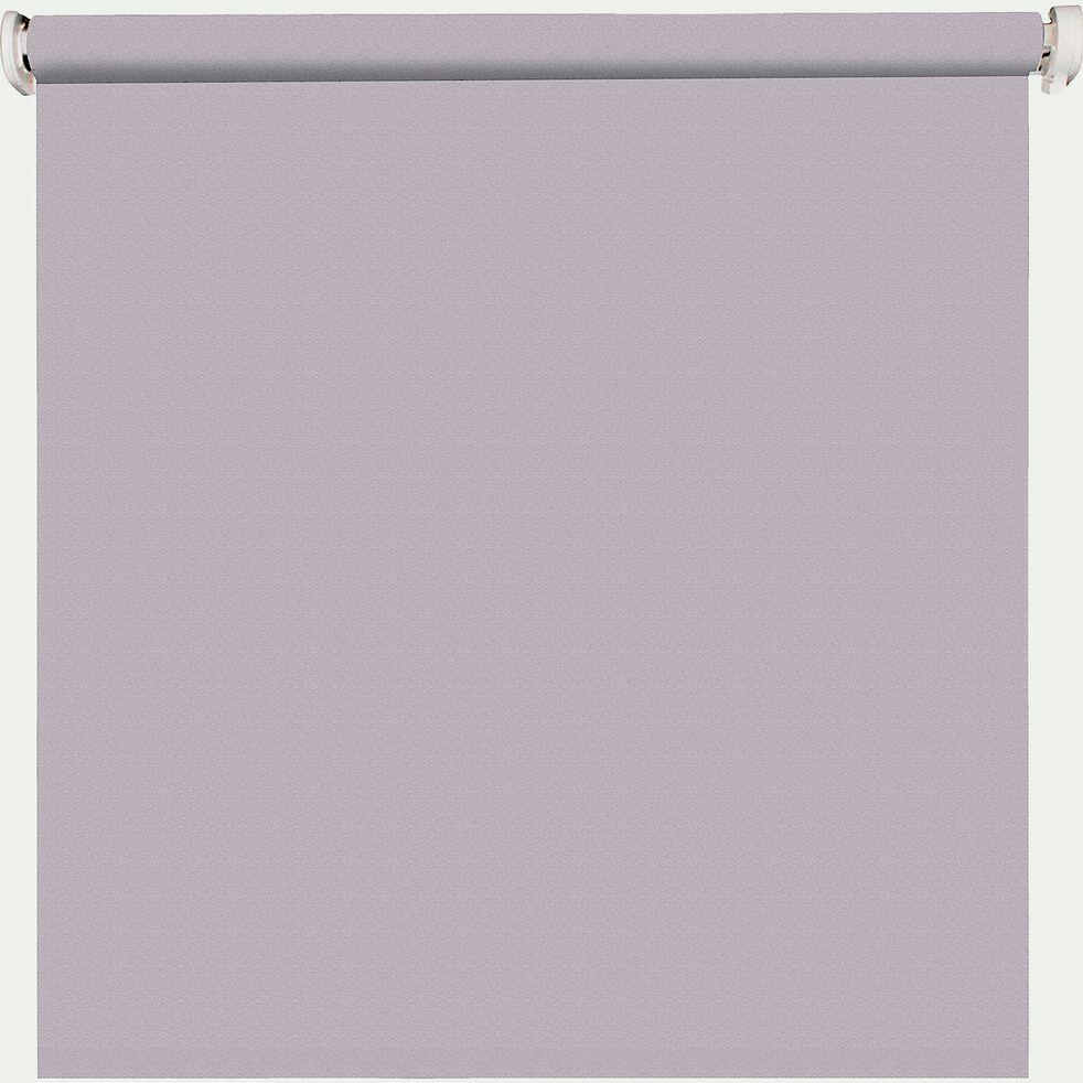 Store enrouleur uni tamisant - gris clair 150x190cm-TAMISANT