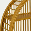 Étagère murale forme ronde - jaune argan D46cm-Estagiero