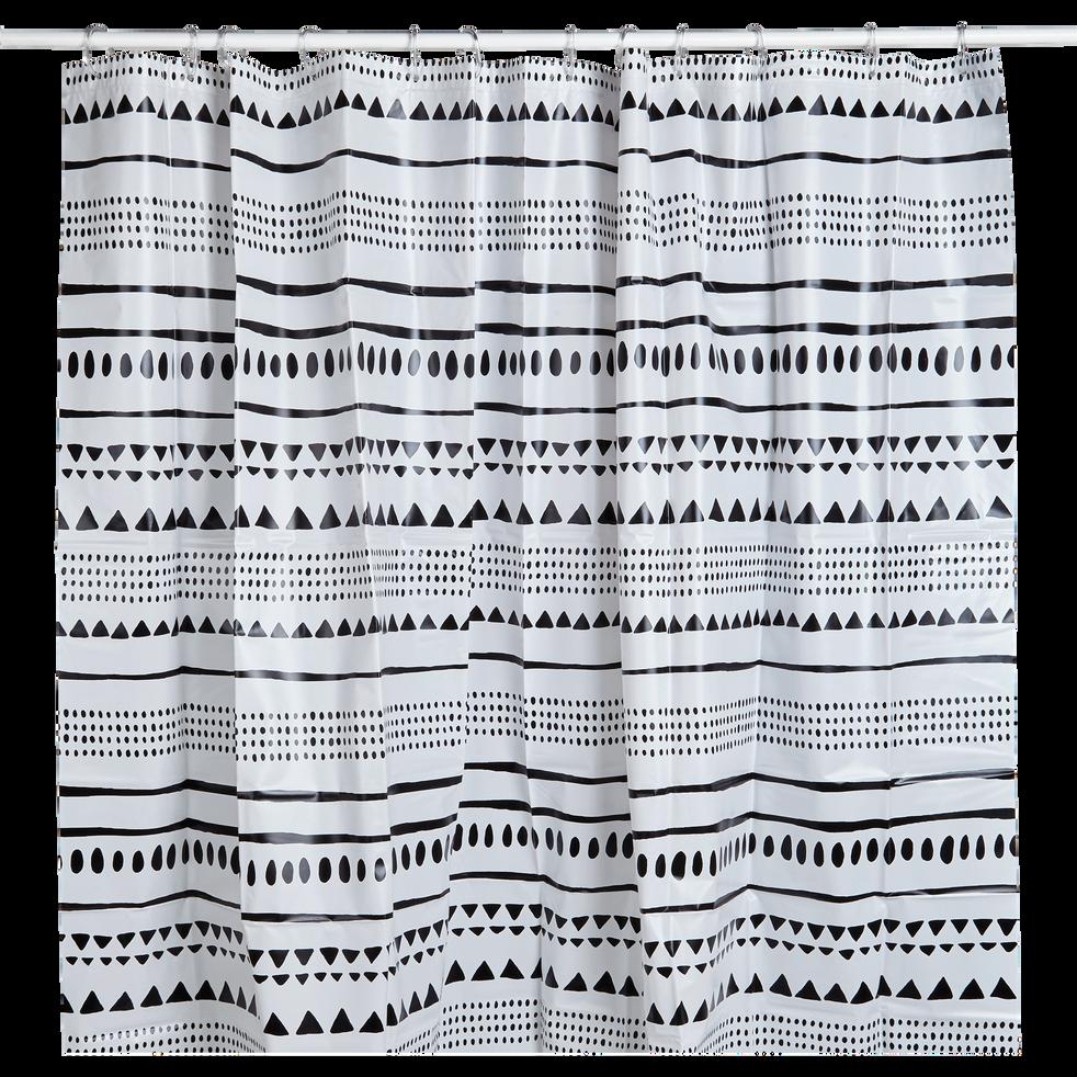 Rideau de douche à motifs aztèques-LAMBIE