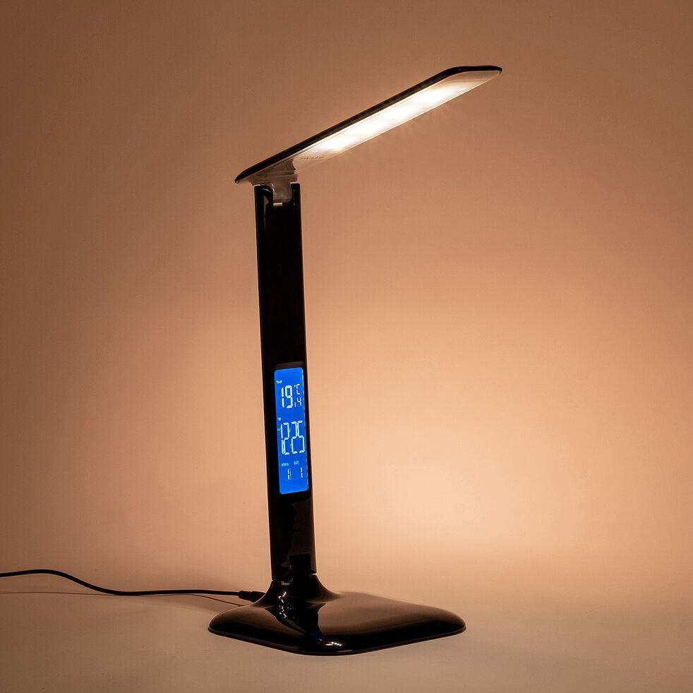 Lampe à poser LED tactile noir-GLENN