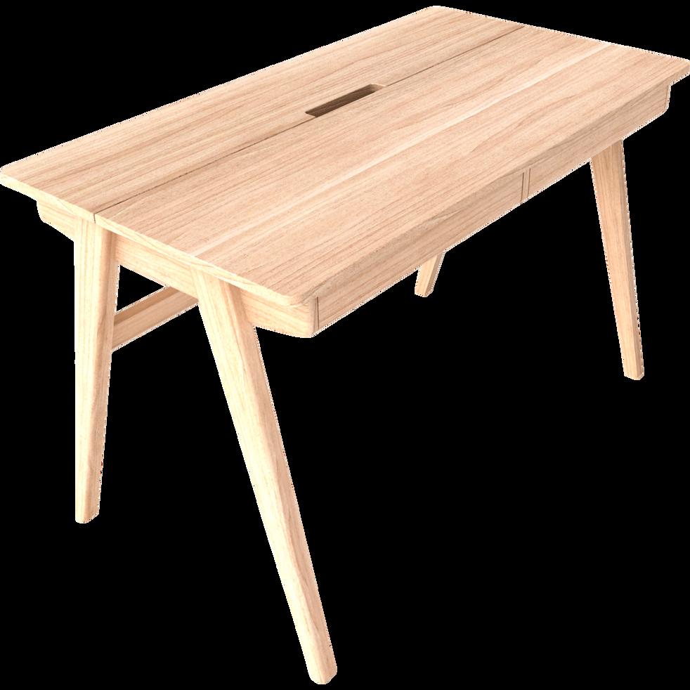 Bureau avec tiroirs et plateau relevable-STUDENT