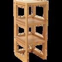 Étagère de salle de bains en bambou H85cm-DANONG
