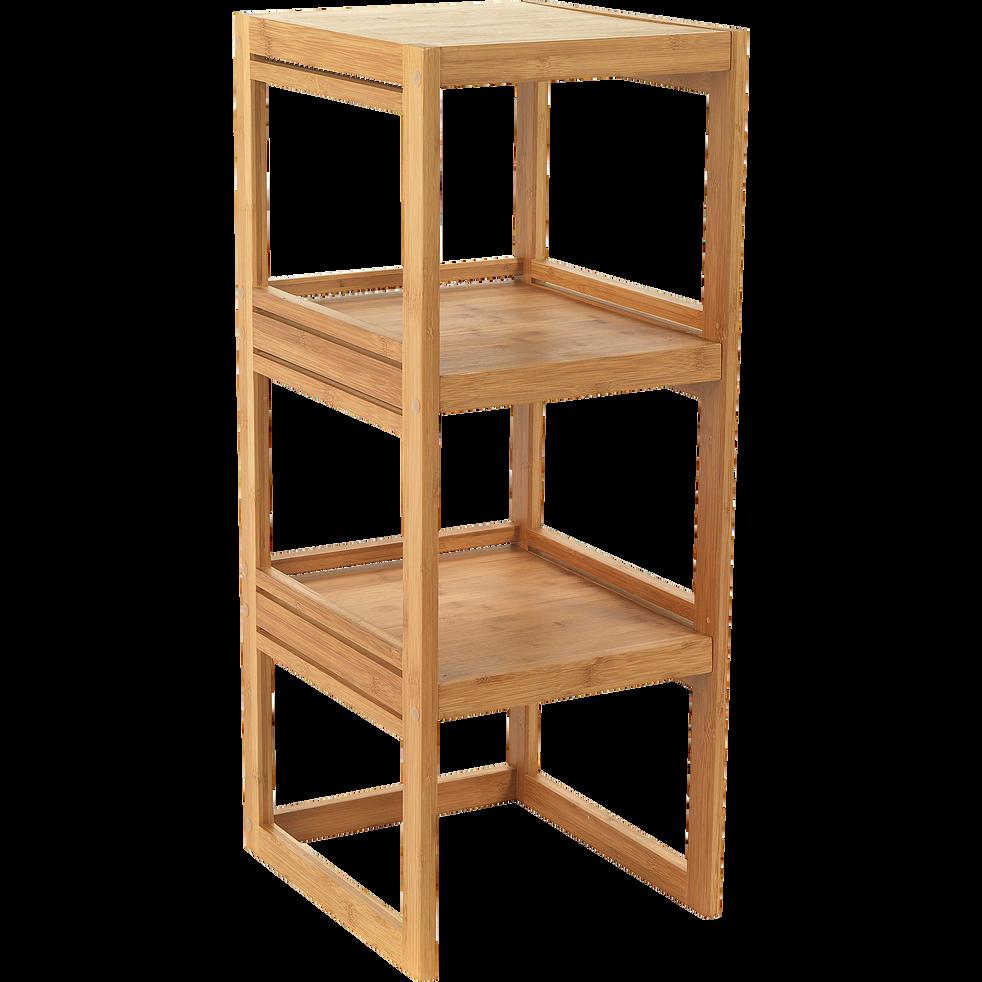 tag re de salle de bains en bambou h85cm danong salle. Black Bedroom Furniture Sets. Home Design Ideas