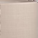 Abat-jour en tissu beige roucas D30cm-MISTRAL